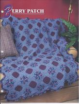 Berry Patch Afghan Crochet Pattern~Annie's Attic - $21.99