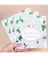 XUES® 1PC/Set 24Page Time Travel Coloring Book For Children Adult Reliev... - $1.17