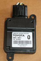 Lexus Toyota  Occuppant Detection Sensor Module Computer 89952-0w011 image 3