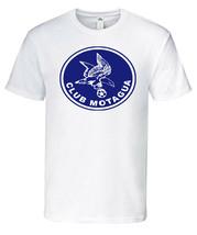 Club Motagua 100% Cotton  White,Blue,Gray T-Shirt Crew Neck - $19.79+