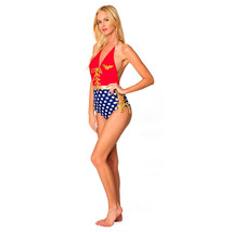 Wonder Woman Backless One Piece Swimsuit Red - $43.99