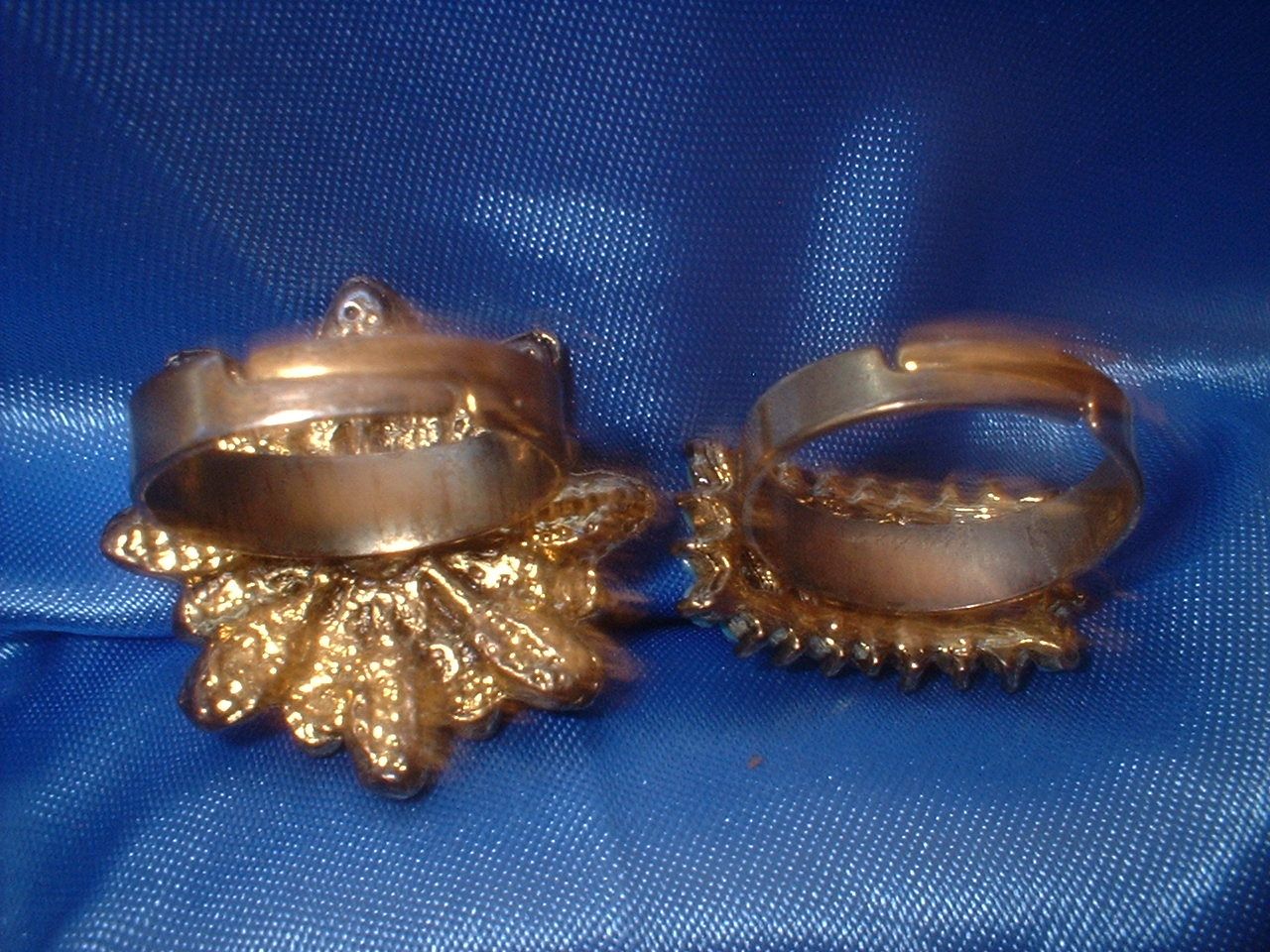 Adjustable Rings Lot 2  Bargain Bin Under $10.00