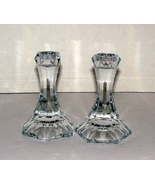 Towle Candlesticks, Austrian Lead Crystal, Faceted - $10.00