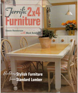 Triffic 2x4 Furniture Stevie Henderson Mark Baldwin Collectible Craft Book - $9.00