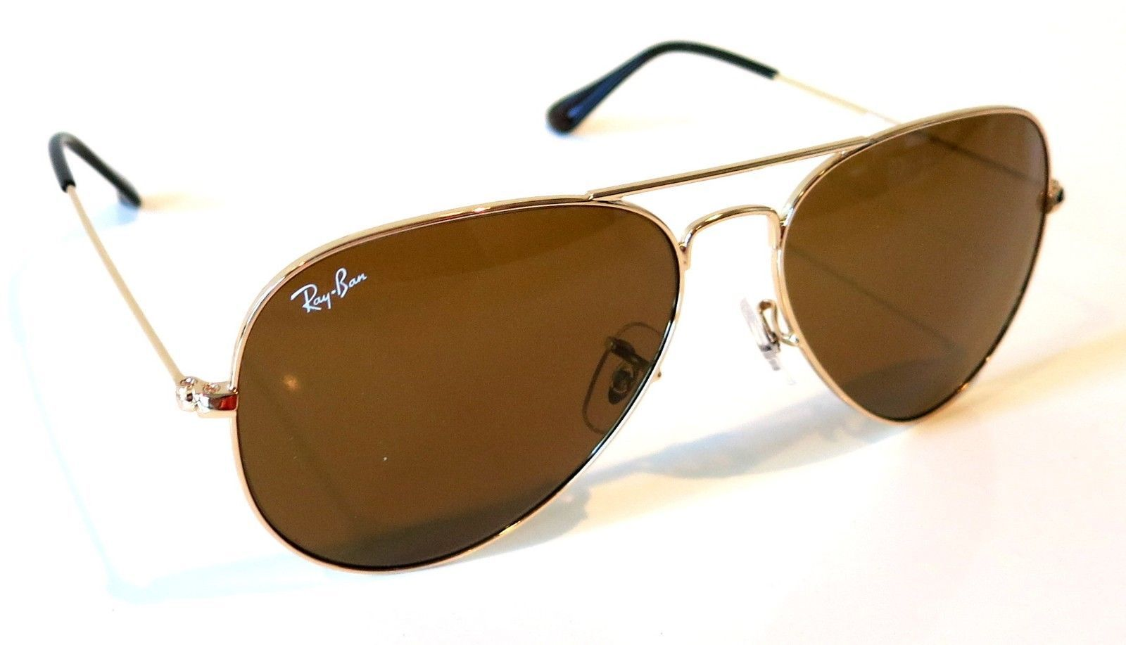 19940f8602 Ray-Ban Aviator RB3025 Brown Lenses 001 33 and 50 similar items. 57