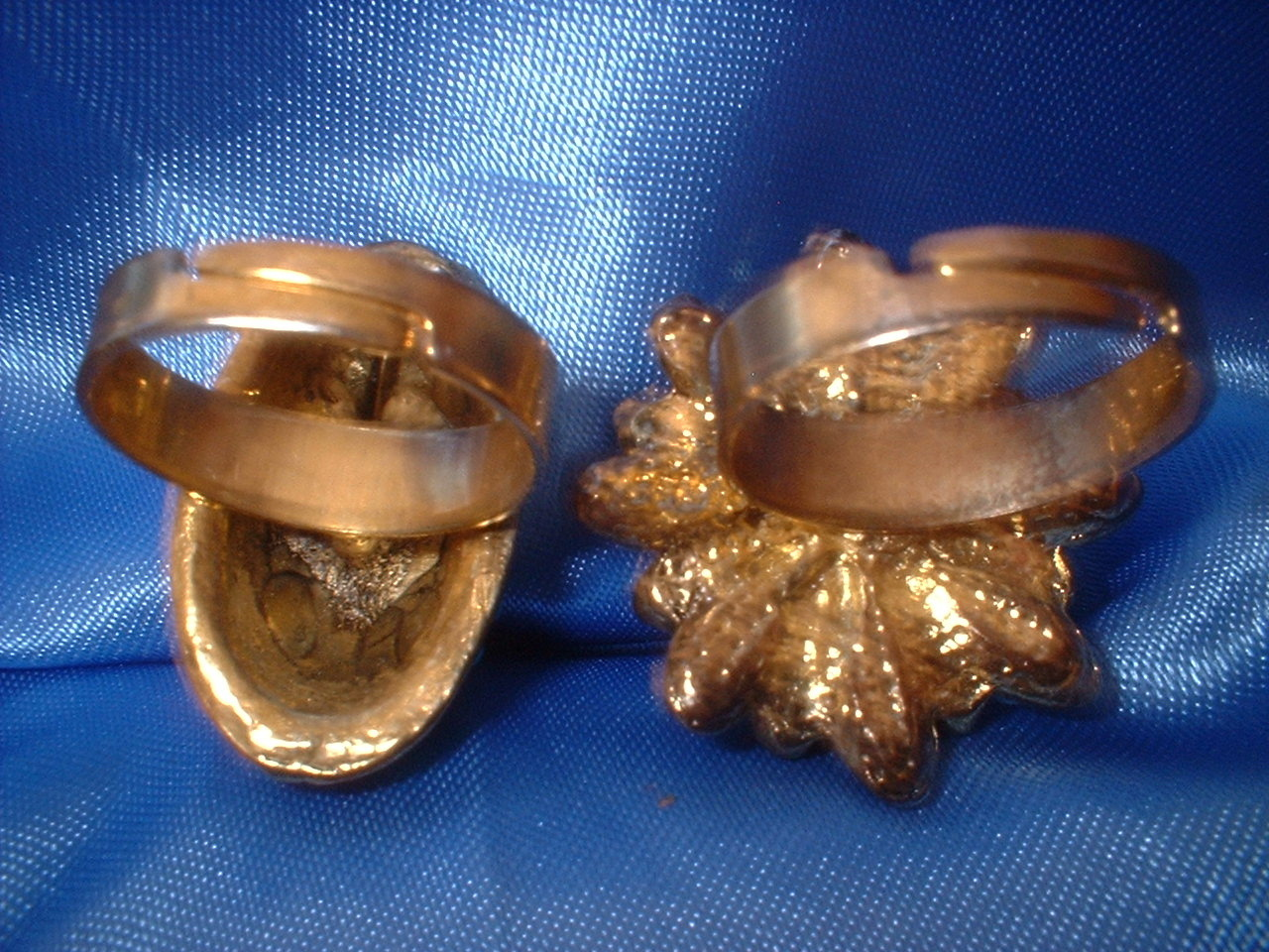 Adjustable Rings Lot 3  Bargain Bin Under $10.00