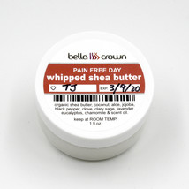 Whipped Shea Butter Lotion - Pain Free Day 1 oz - $5.99