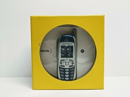 Nextel Motorola i265 Go Getter Cell Phone Blue Gray - $34.64