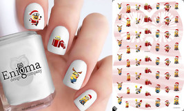 Minions Christmas Nail Decals (Set of 56) - $4.95