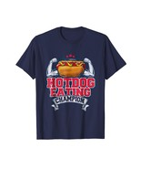 Dog Fashion - Hot Dog Eating Champion Funny Award BBQ Gift T-Shirt Men - $19.95+