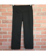 Lululemon Size 6 Capri Leggings Gather And Crow Split Calves Yoga Pants ... - $29.69