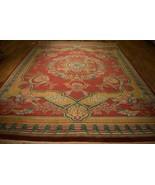 Jaipur Gorgeous Handmade Carpet 9 x 12 New Fine Quality Dense Tomato red... - $1,185.59