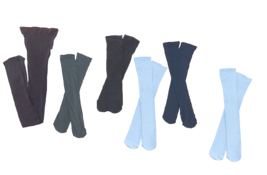 Legacy Set of 1 Microfiber Tights & 5 Trouser Socks One size - $44.54