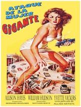 Decorative Poster.Interior wall art design.Afiche Ataque Mujer Gigante.3936 - $9.90+