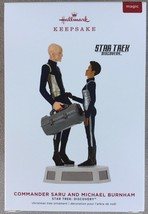 Hallmark Keepsake 2019 Star Trek Saru and Burnham Magic Ornament - New I... - $34.95