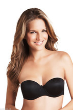 NEW high street Strapless Multi way bra with clear straps, Black - $13.29