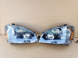 05-06 Nissan Altima 3.5 SE-R  Xenon Headlight Head Light Lamps Set L&R