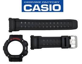 CASIO G-9010-1 GW-9010-1 G-SHOCK ORIGINAL WATCH BAND & BEZEL BLACK RUBBE... - $66.93