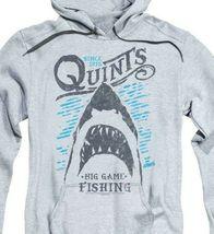 Jaws Movie Est.1975 Quints Big Game Fishing Shark Amity Island Hoodie UNI1175 image 3