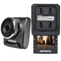 PAPAGO! GoSafe 200 1080p Dash Cam w/2 Slide-Out LCD Screen (Records to m... - $36.51
