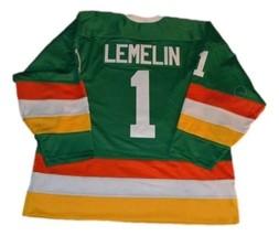 Any Name Number Philadelphia Firebirds Retro Hockey Jersey Green Any Size image 2