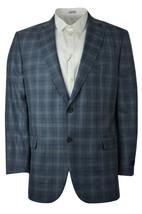 Brooks Brothers Mens Blue Plaid Madison Fit Wool Sports Coat Blazer 44R ... - $394.02