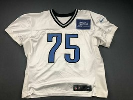 2012 Edmon McClam Practice Used Detroit Lions Nike Football Game Jersey!... - $74.79