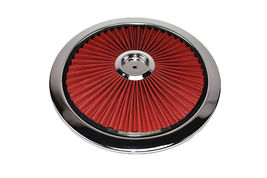 """14"""" High Flow Replacement Air Cleaner Assembly w/ Round Air Filter Element Kit image 7"""
