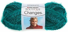 Red Heart Boutique Changes Turquoise Knitting & Crochet Yarn - $10.00