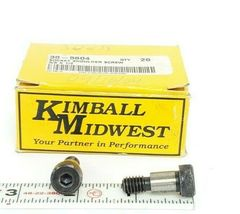 "BOX OF 19 NEW KIMBALL MIDWEST 30-5604 SOCKET SHOULDER SCREWS, 3/8"" X 1/2"" image 3"