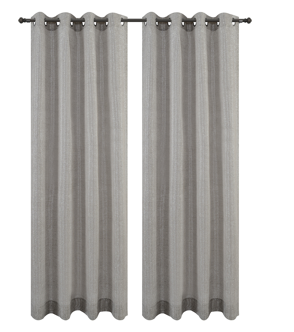 Urbanest Cosmo Set of 2 Sheer Curtain Panels w/ Grommets image 9