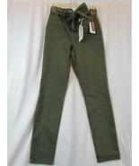 NWT Vanilla Star Green High Rise Self Belt Detachable Sz 5 W27 L27 Org $... - $33.24