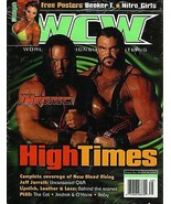 WCW MAGAZINE #66 OCTOBER 2000 MIDAJAH +  POSTER - $9.95