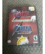 The Legend of Zelda Ocarina Of Time / Master Quest Nintendo Gamecube Com... - $59.39