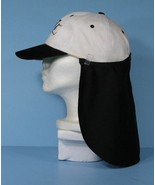 6 Removable Hat Neck / Ear Flaps Sun Protection Shade Black Only NEW - $25.99