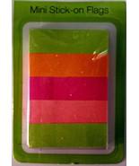 Bright Multi-Colored Mini Stick-On Flags - $3.95