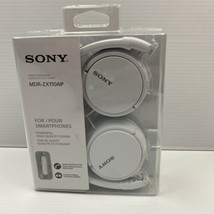 Sony MDRZX110AP/W ZX-Series Extra Bass Headphones, White New - $28.05