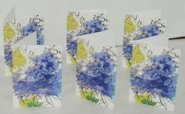 Caspari 88610 46 Abstract Floral 8 Assorted Boxed Notes With Envelopes image 4
