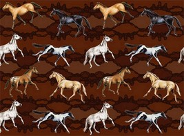 "Horse Microfiber Dish Drying Mat New Brown 20"" x 14.5"" Machine Washable ... - $8.90"