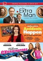 The Extra Man / Accidents Happen / ExTerminators - $16.87