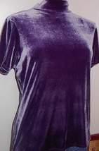 Shimmery Purple Rail Horse Show Hobby Halter Slinky XL Plus  - $38.00