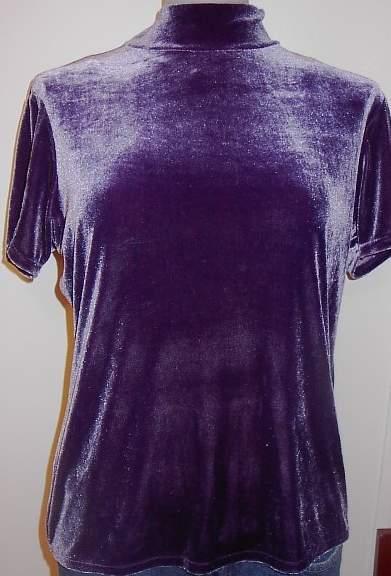 Shimmery Purple Rail Horse Show Hobby Halter Slinky XL Plus