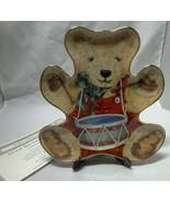 Little Drummer Bear Collectors Plate COA Franklin Mint 24 Karat Gold Vin... - $14.99