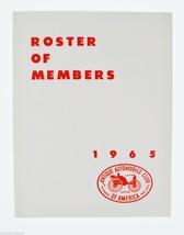 Antique Automobile Magazines 1965 Roster of Members Antique Automobiles,... - $10.00
