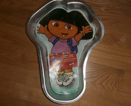 2003 WILTON DORA THE EXPLORER CAKE PAN WITH INSTRUCTIONS - $22.49