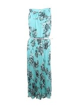 Jessica Howard Women's Floral-Print Belted Dress, Mint, 10P - $49.49