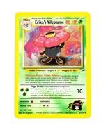 Pokemon TCG Erika's Vileplume 5/132 Rare Gym Heroes Series Holo Shiny Card - $4.94