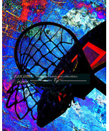 Basketball Theme Art Print, Sports Wall Decor, Wall Art Print, Pictures  - $15.88+