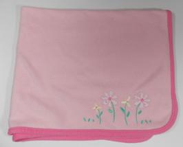 "Carter's Child of Mine Flower Baby Blanket 35""x... - $15.99"