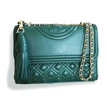 New Tory Burch Fleming Convertible Small Shoulder Bag - Norwood - $313.00